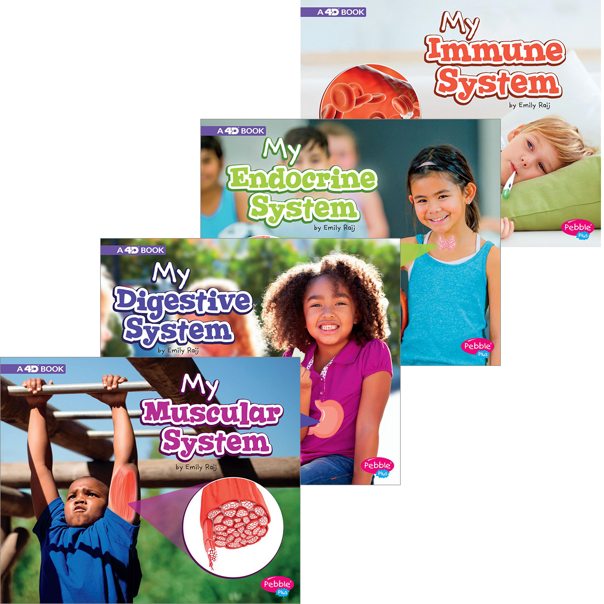 Capstone My Body Systems 4-Pack