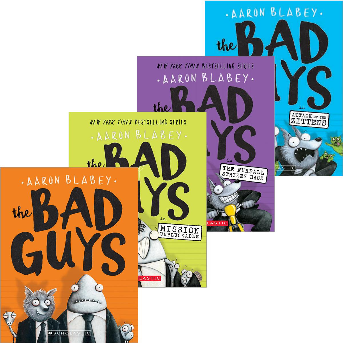 The Bad Guys #1-#12 Pack