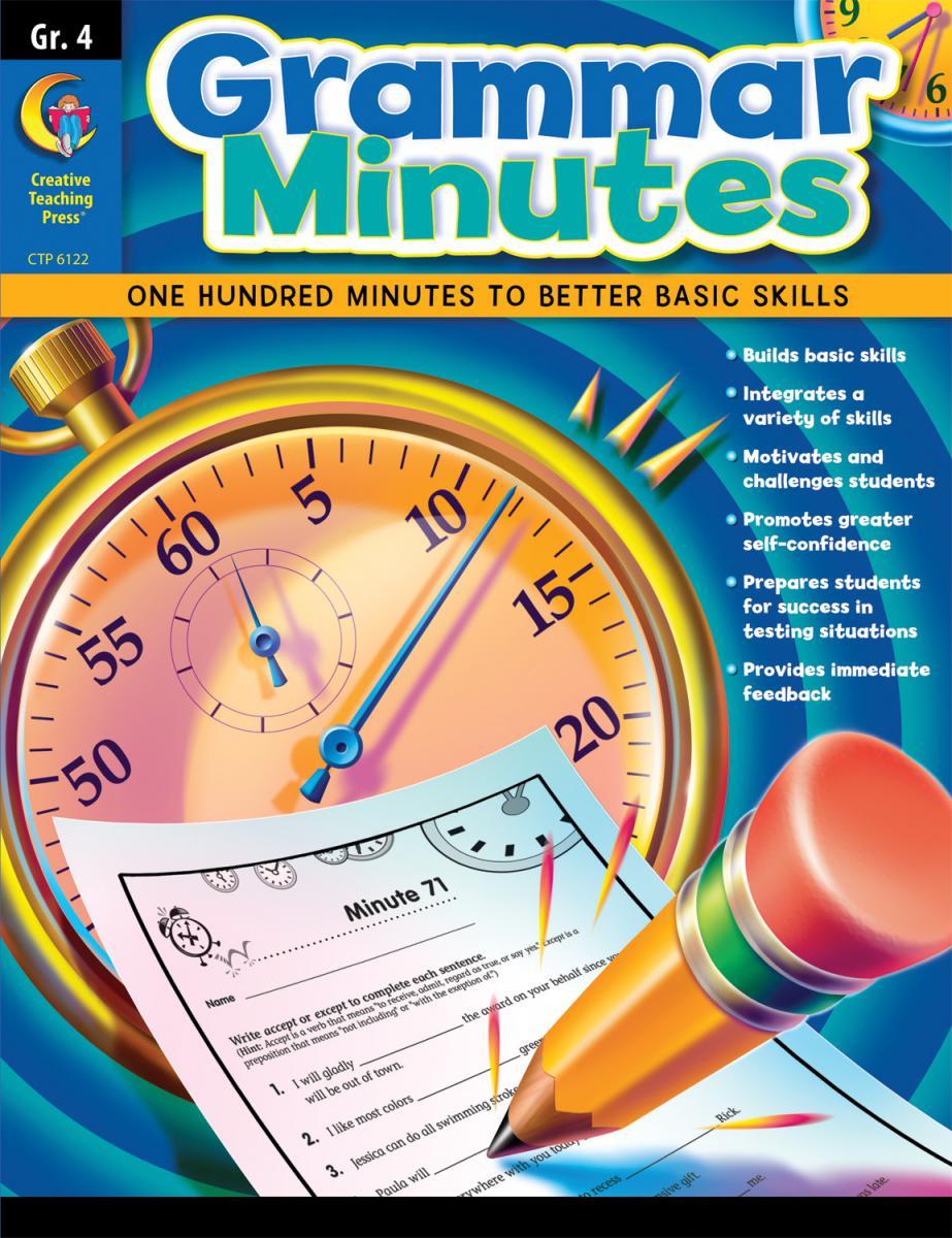 Grammar Minutes Grade 4