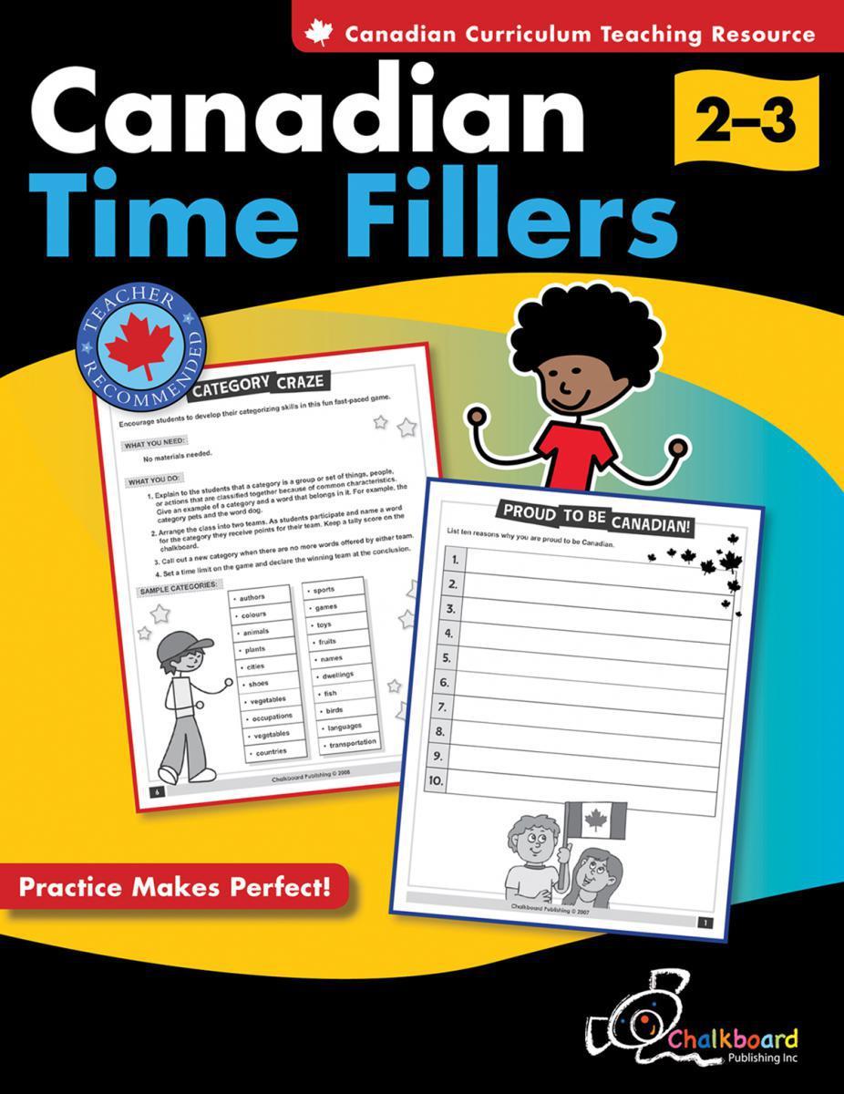 Canadian Time Fillers Gr. 2-3