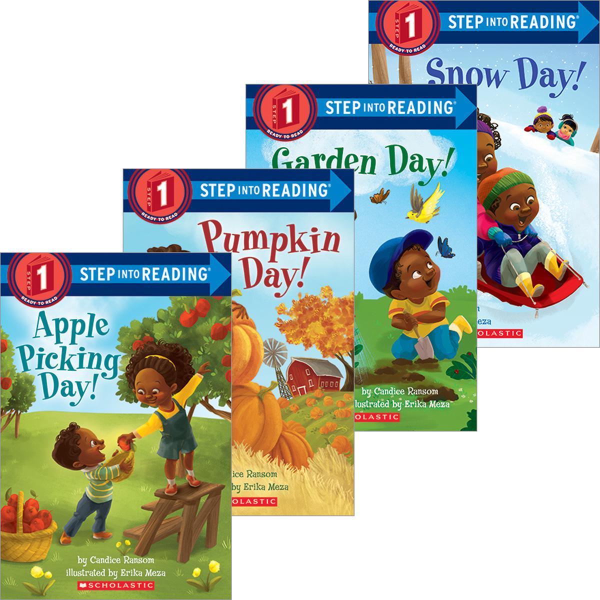 Celebrate the Seasons Rhyming Reader 4-Pack