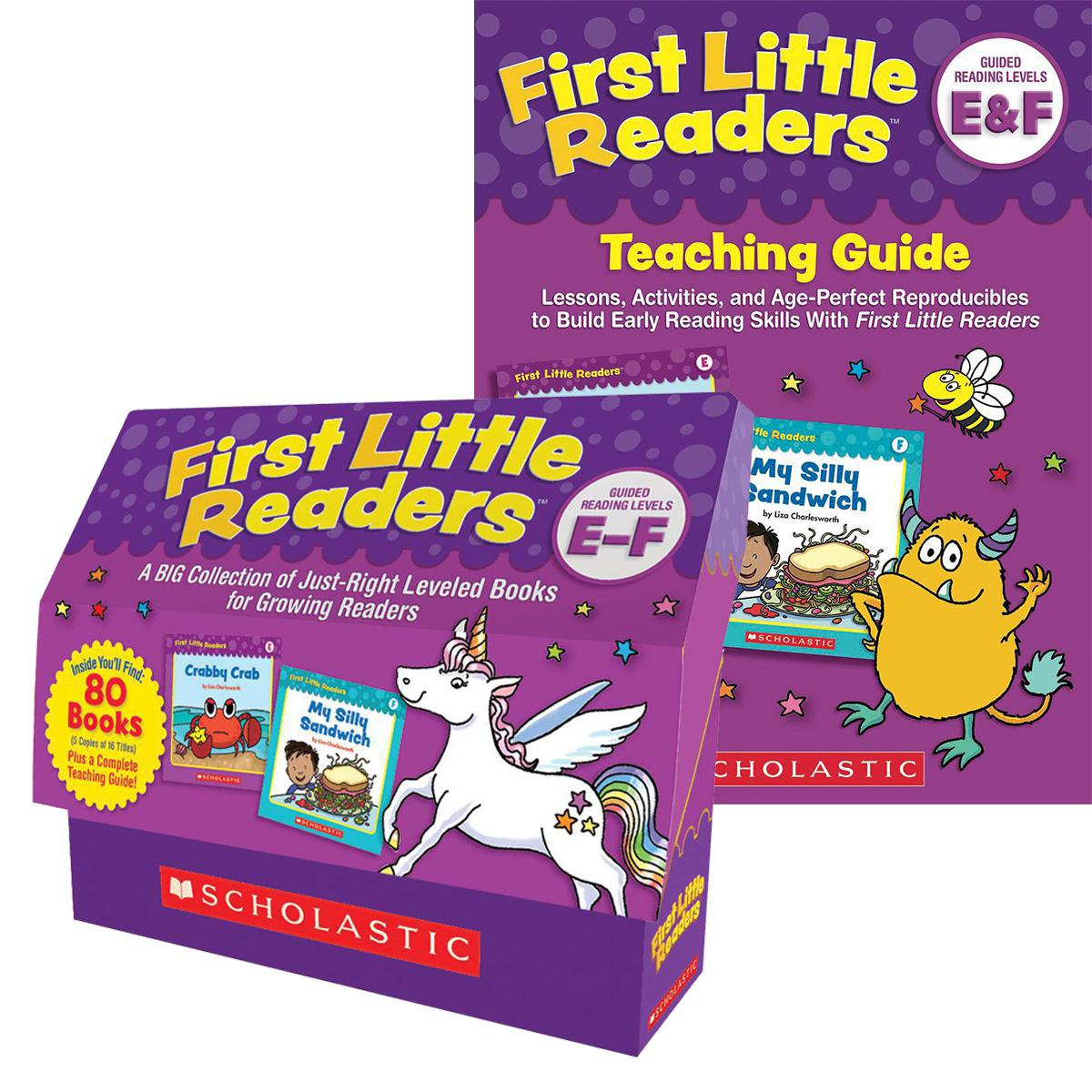 First Little Readers Box Set: Level E-F