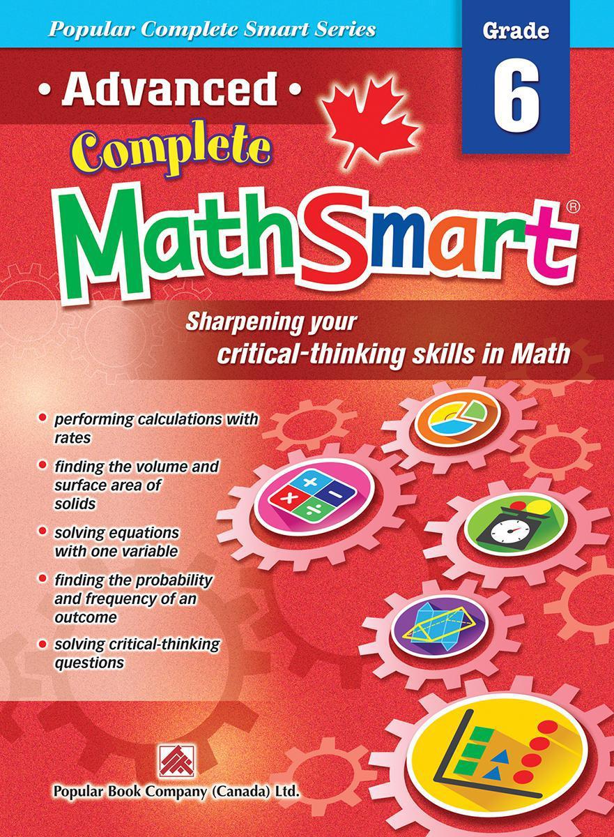 Advanced Complete MathSmart: Grade 6