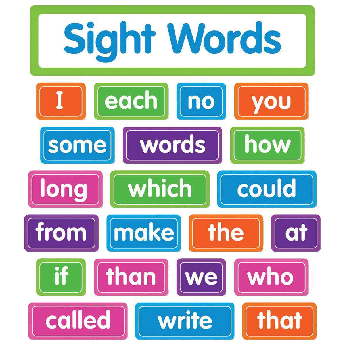 Sight Words Bulletin Board Sets