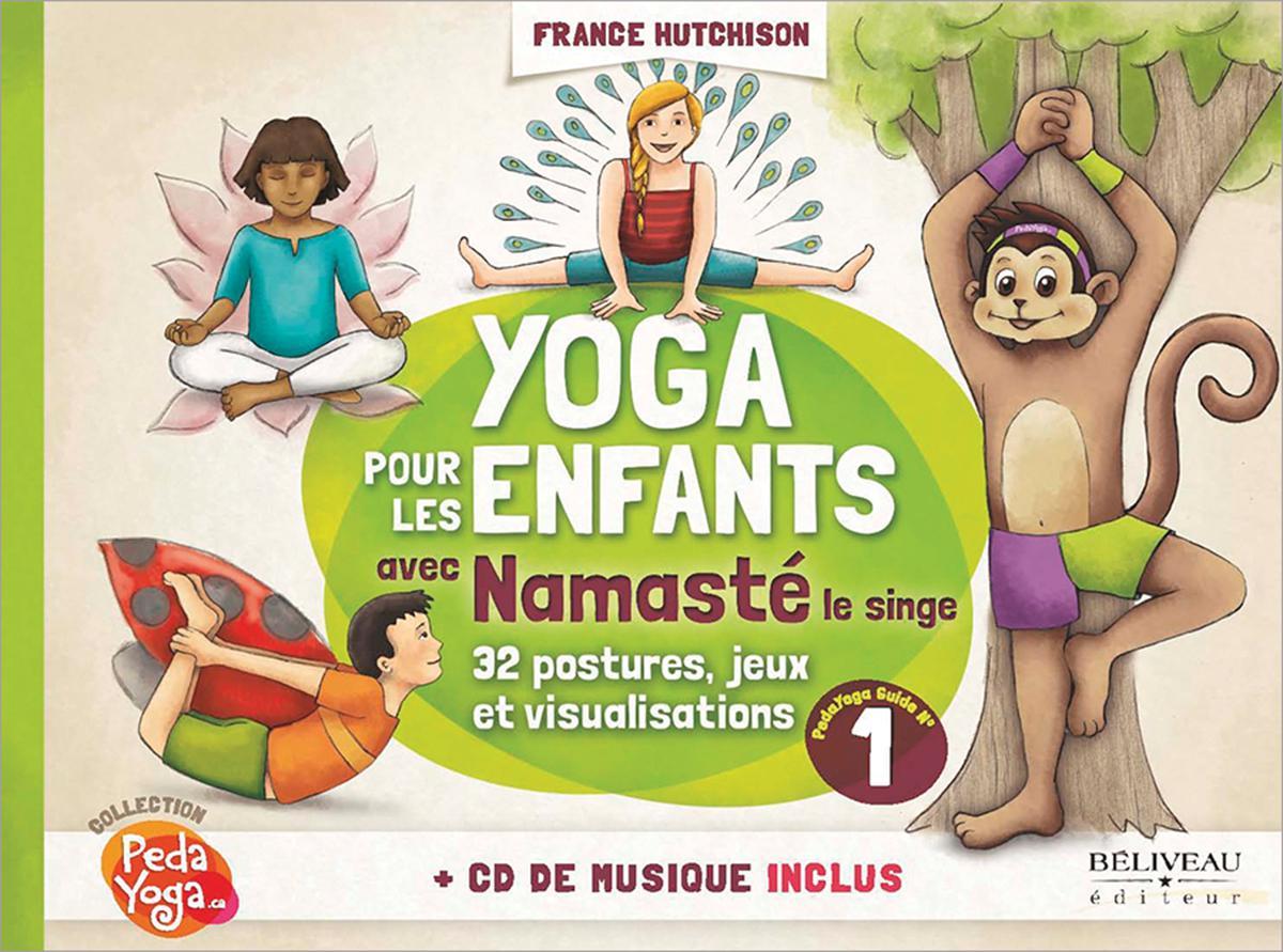 Yoga pour les enfants avec Namasté le singe