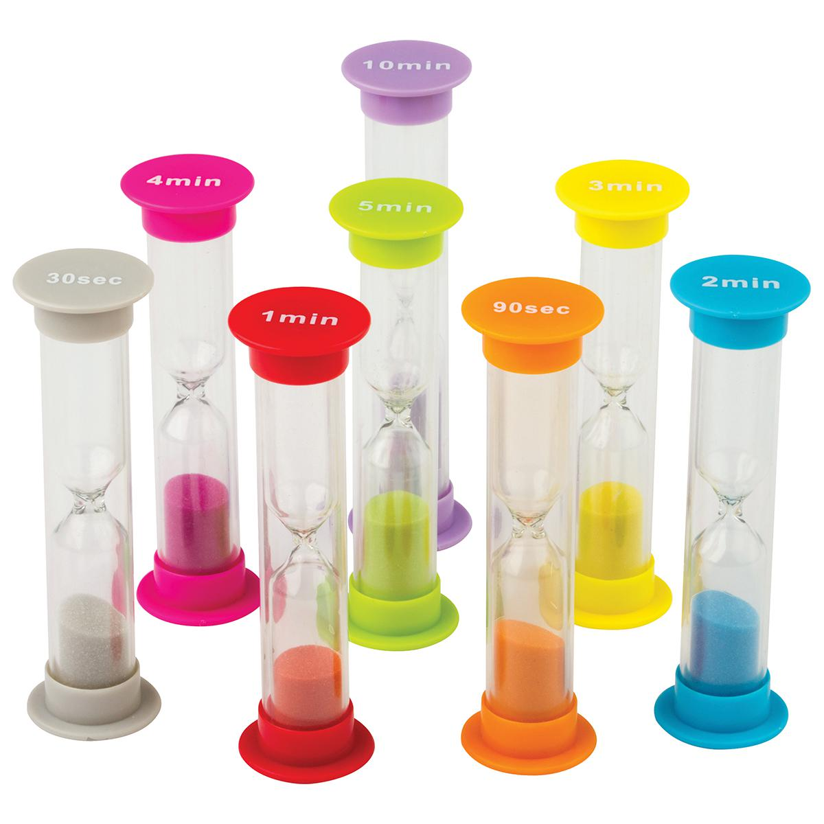 Sand Timers Combo 8-Pack