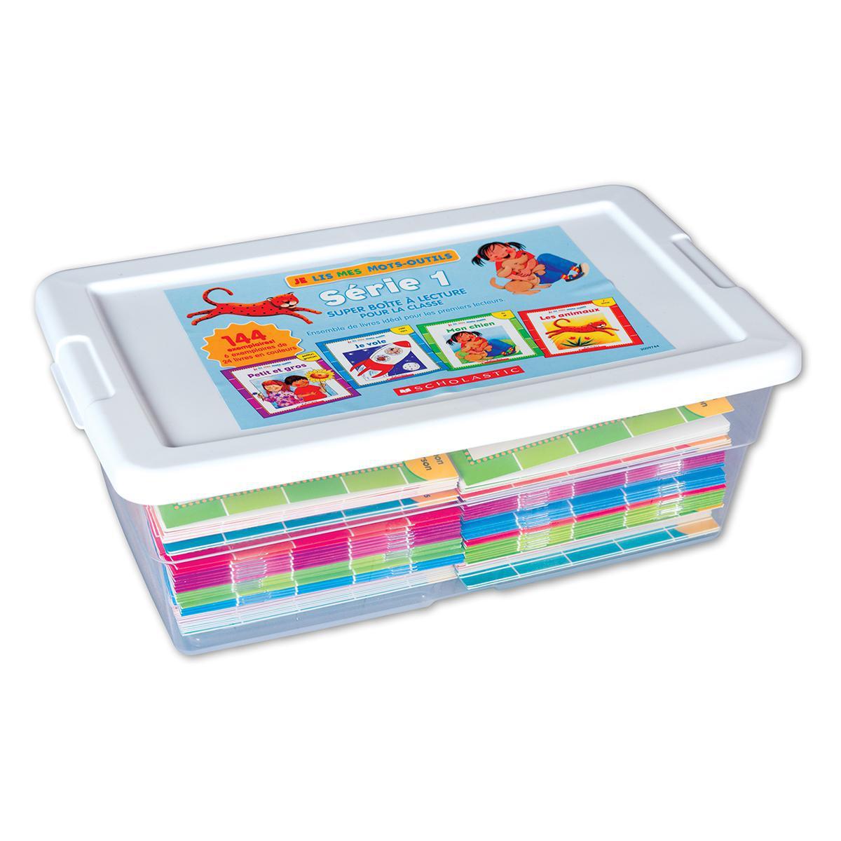 Super boîte à lecture pour la classe : Je lis mes mots-outils - Série 1