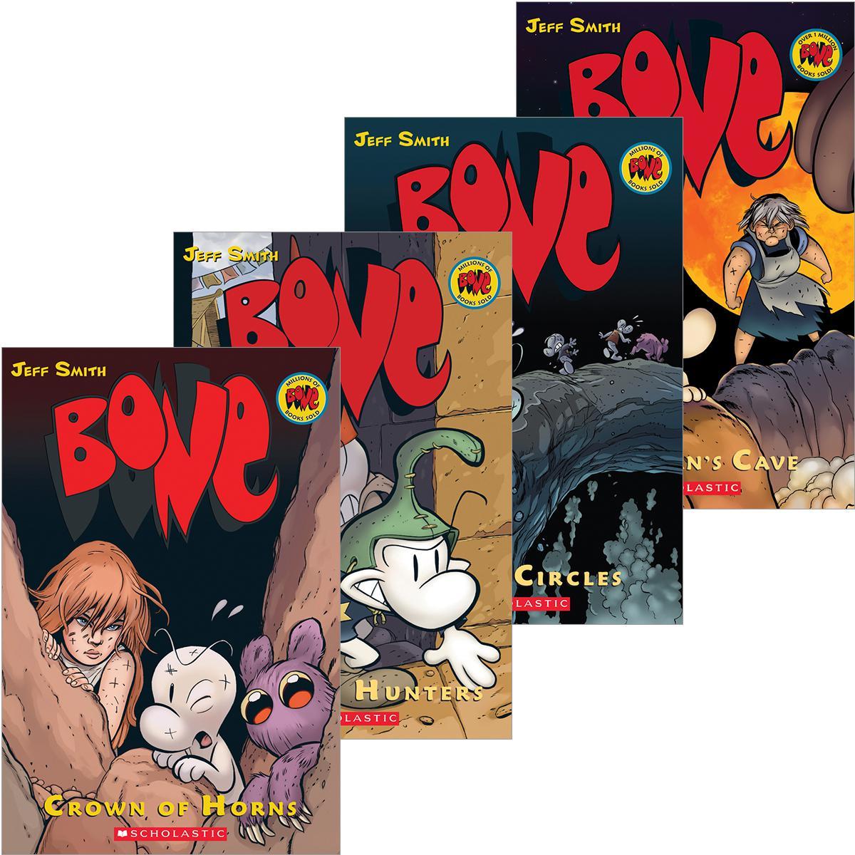 Bone #1-#9 Pack
