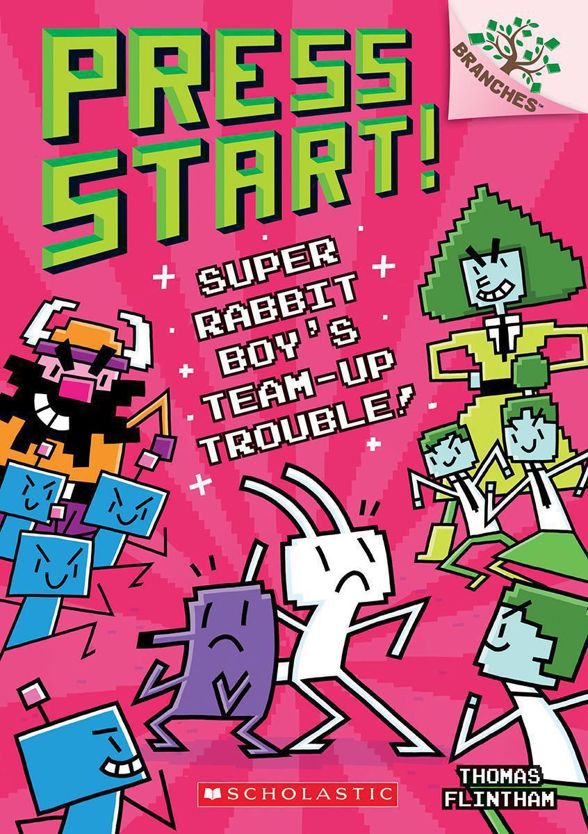 Press Start! #10: Super Rabbit Boy's Team-Up Trouble!
