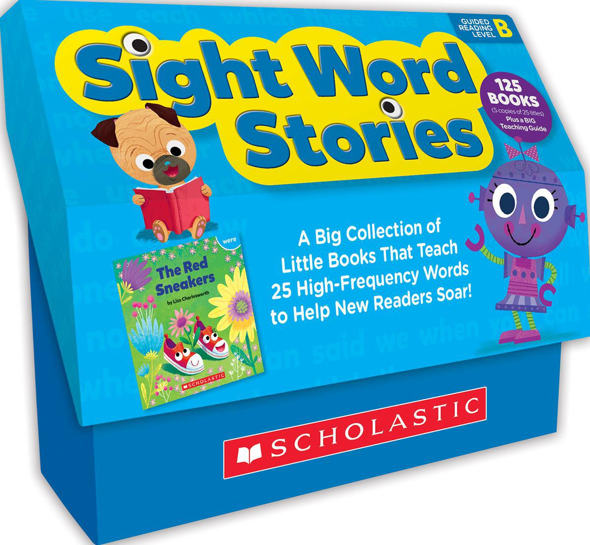 Sight Word Stories Classroom Set: Level B