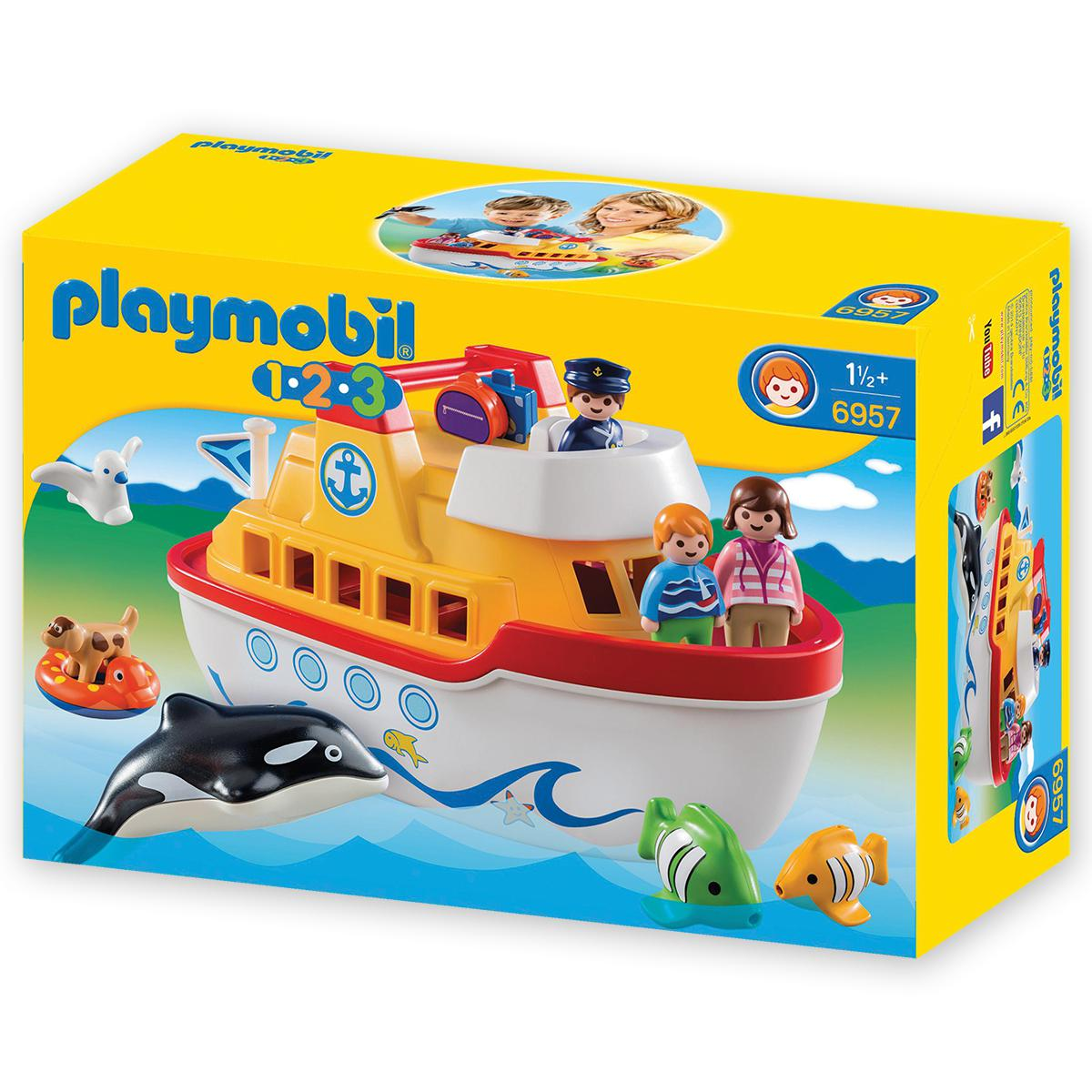 Playmobil® 1-2-3 Take Along Ship