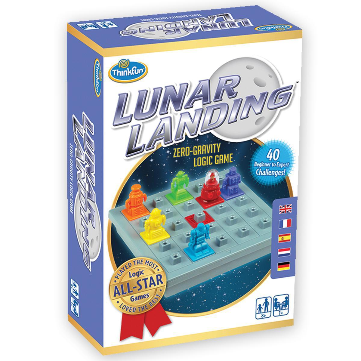 Lunar Landing: Zero Gravity Logic Game