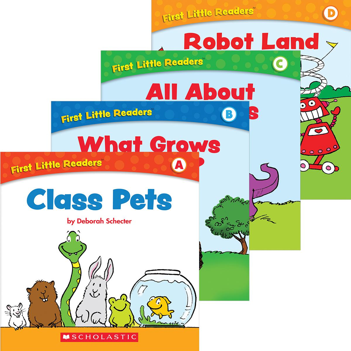 First Little Readers Value Pack (A-D)