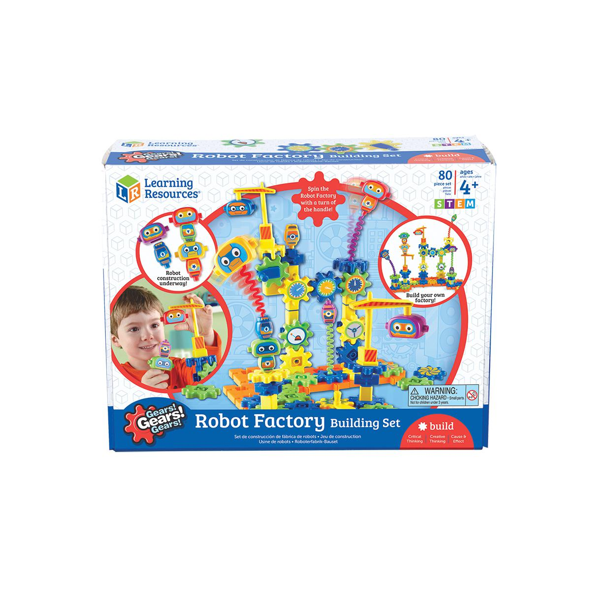 Gears! Gears! Gears!® Robot Factory Building Set