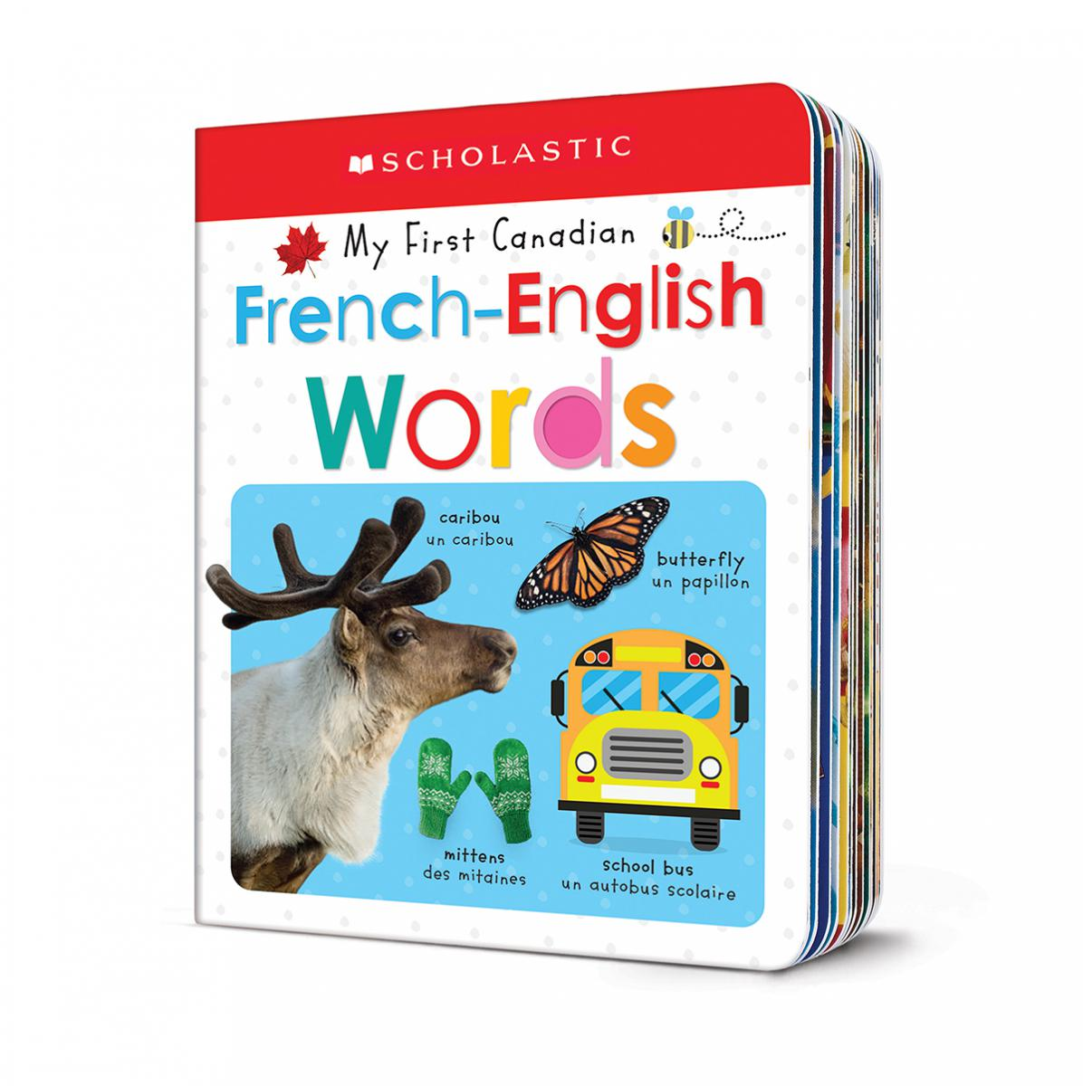 Scholastic Early Learners My First Canadian French-English Words