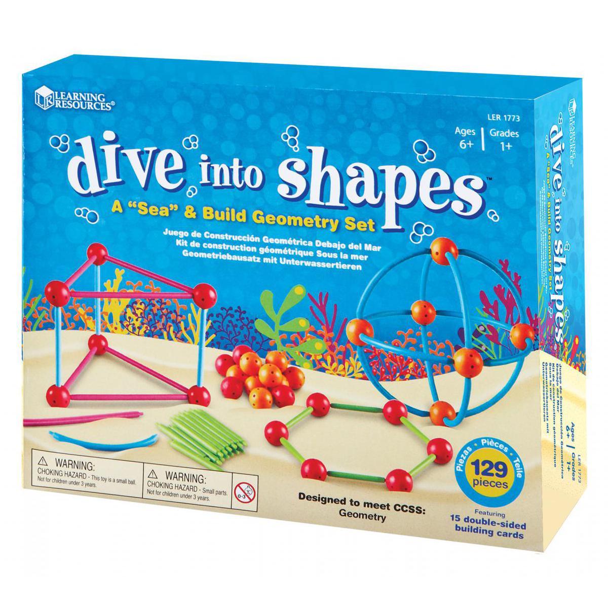 "Dive into Shapes: A ""Sea"" & Build Geometry Set"