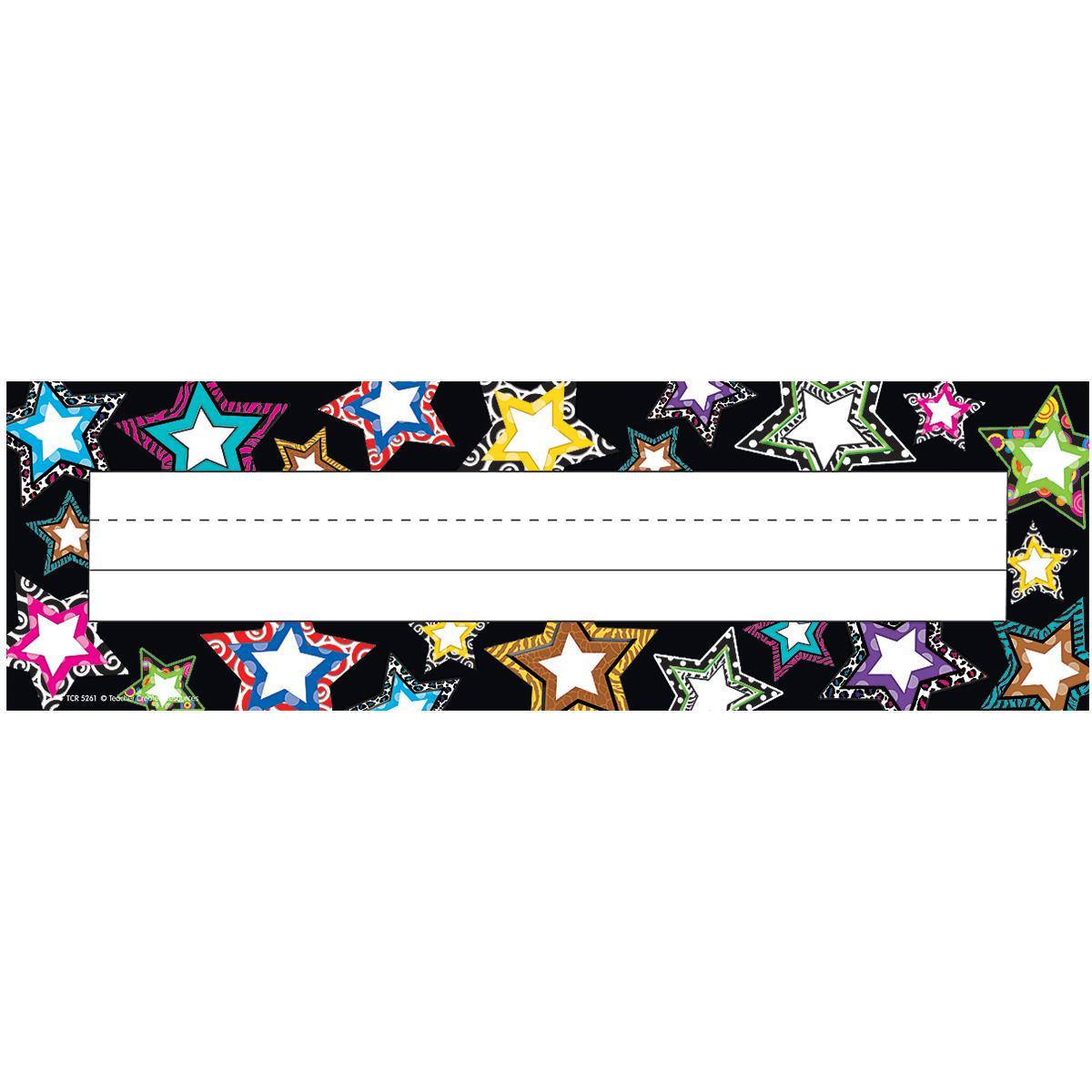 Cartes d'identité Étoiles scintillantes