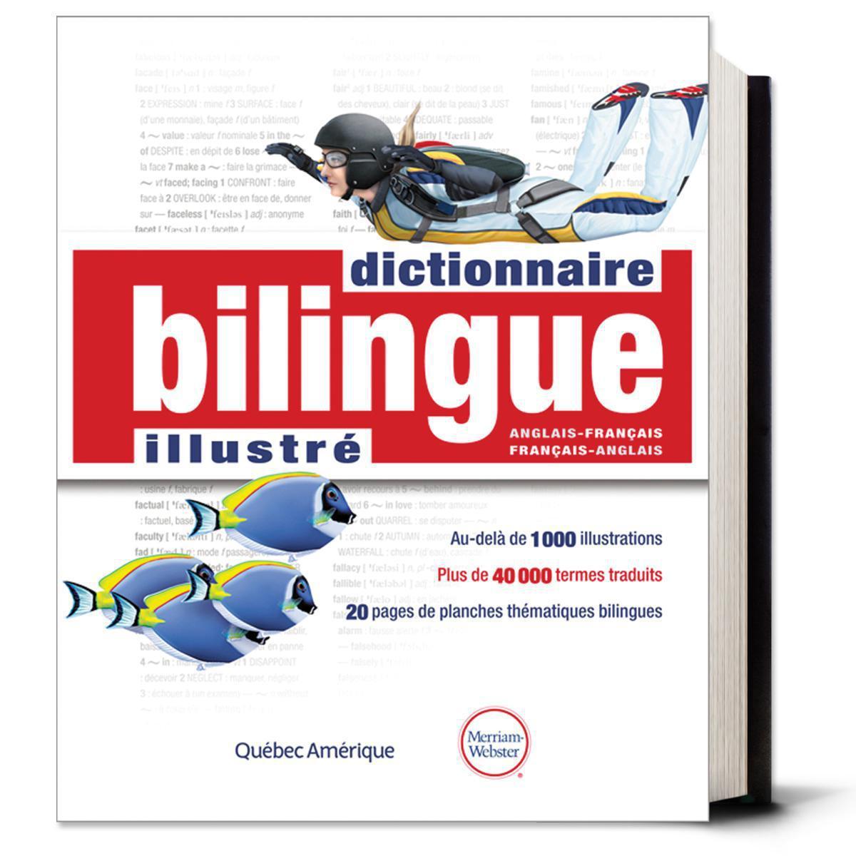 Dictionnaire bilingue illustré Anglais-français/Français-anglais