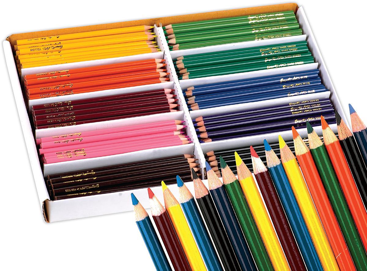 Ensemble de classe : Crayons de couleur Sargent Art® (144)