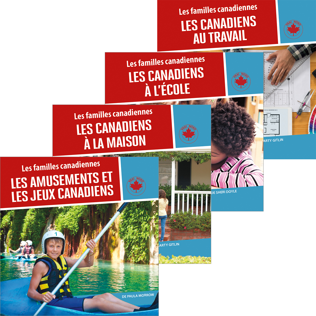 Canadian Families 6-Pack  (French)
