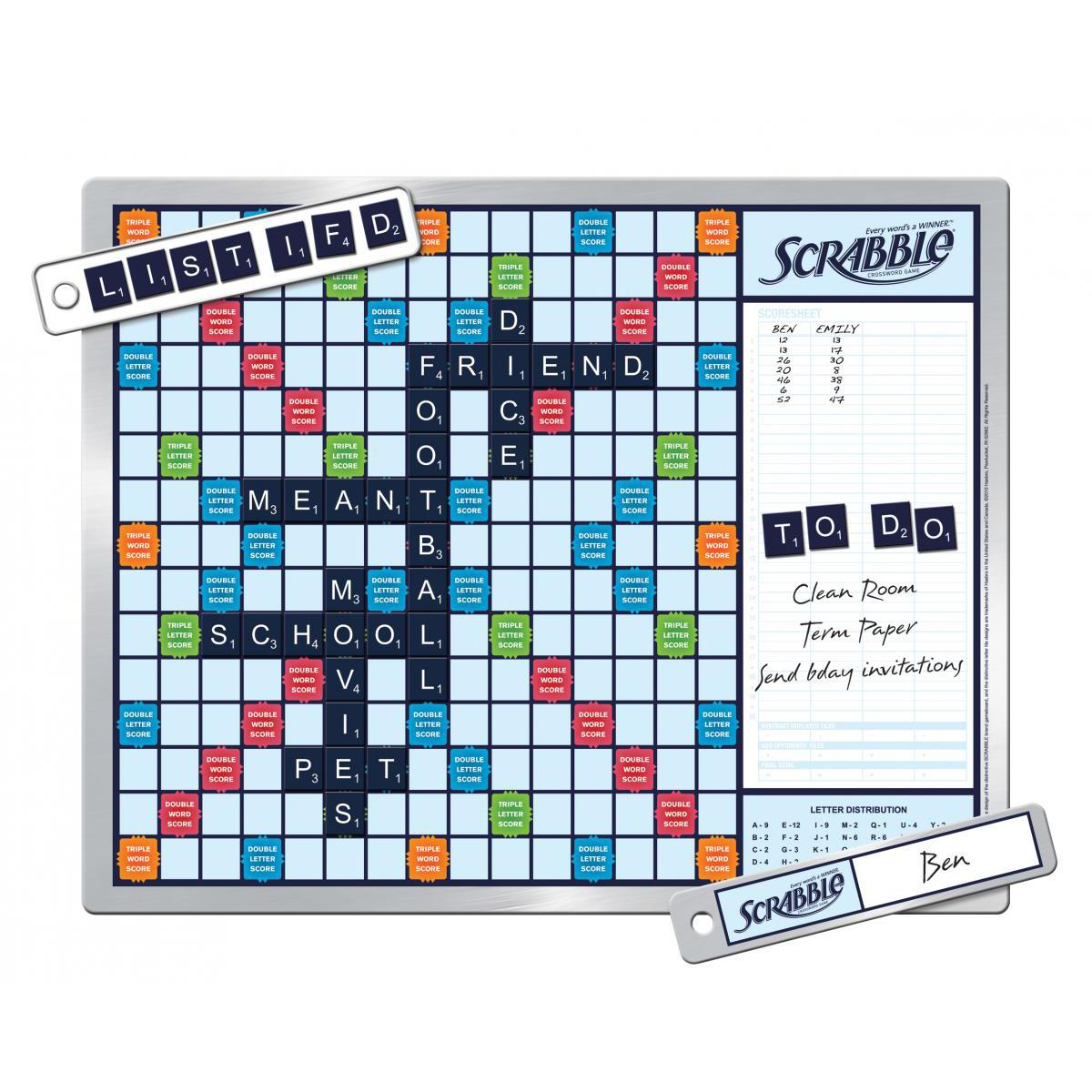 Scrabble® 2-in-1 Message Board
