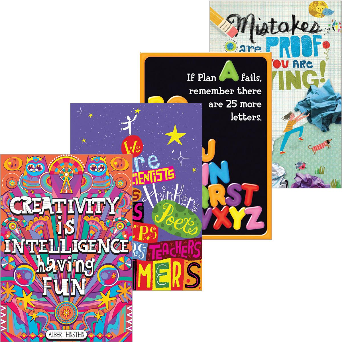 Inspiration for Makers Poster Pack