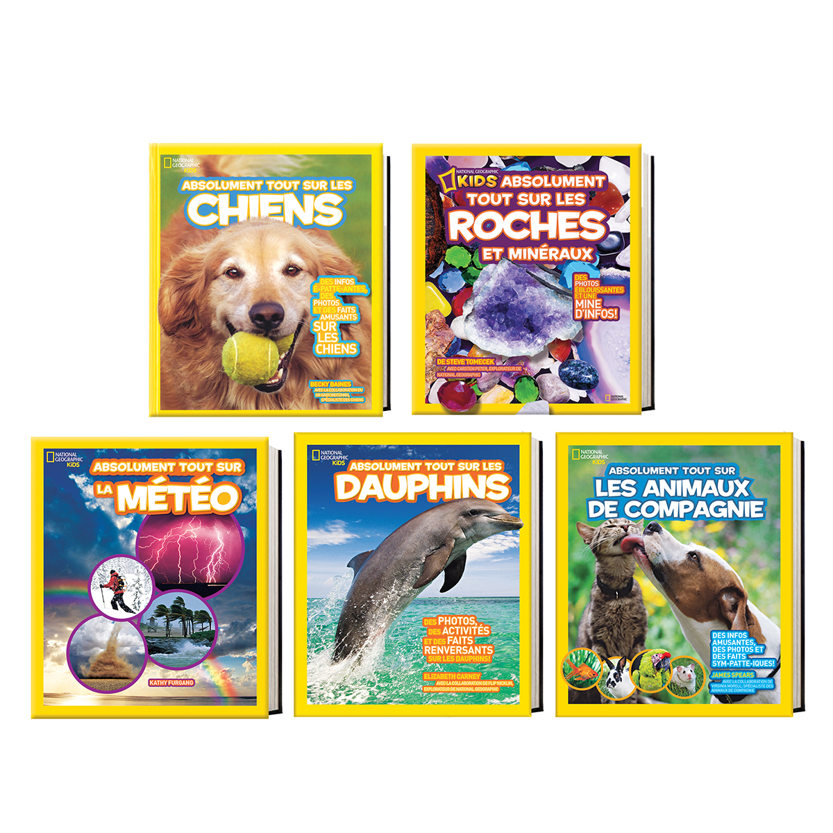 Collection National Geographic Kids Absolument tout sur
