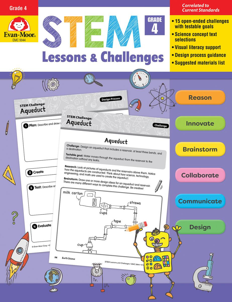 STEM Lessons & Challenges: Gr. 4