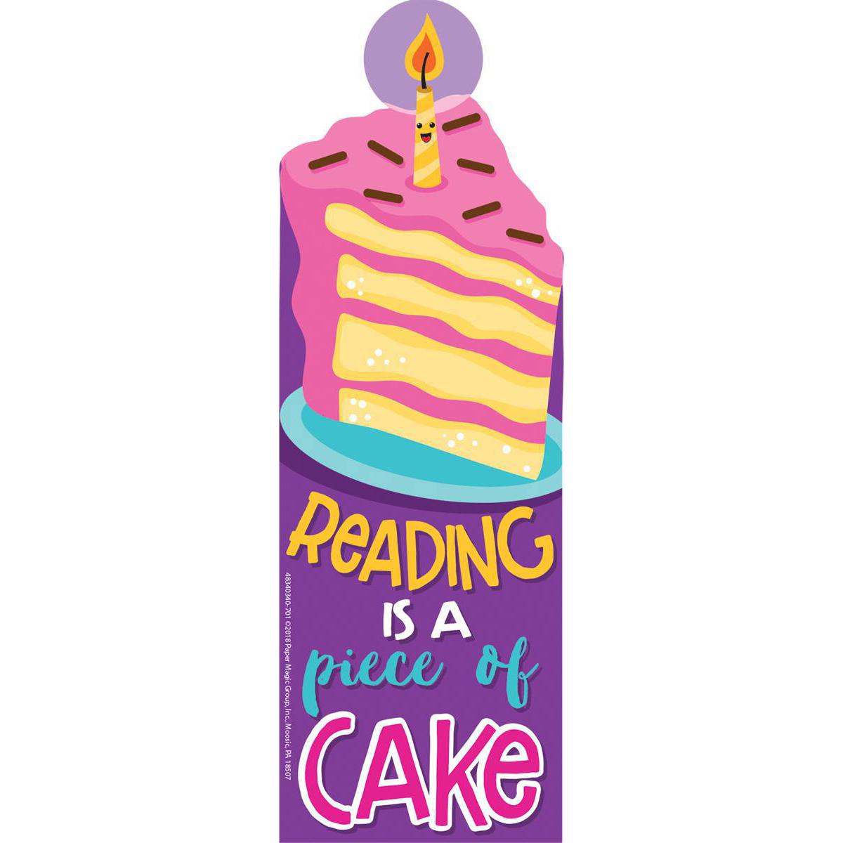 Cake Scented Bookmark