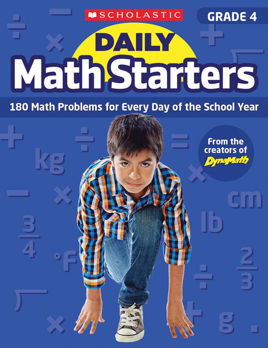 Daily Math Starters: Grade 4