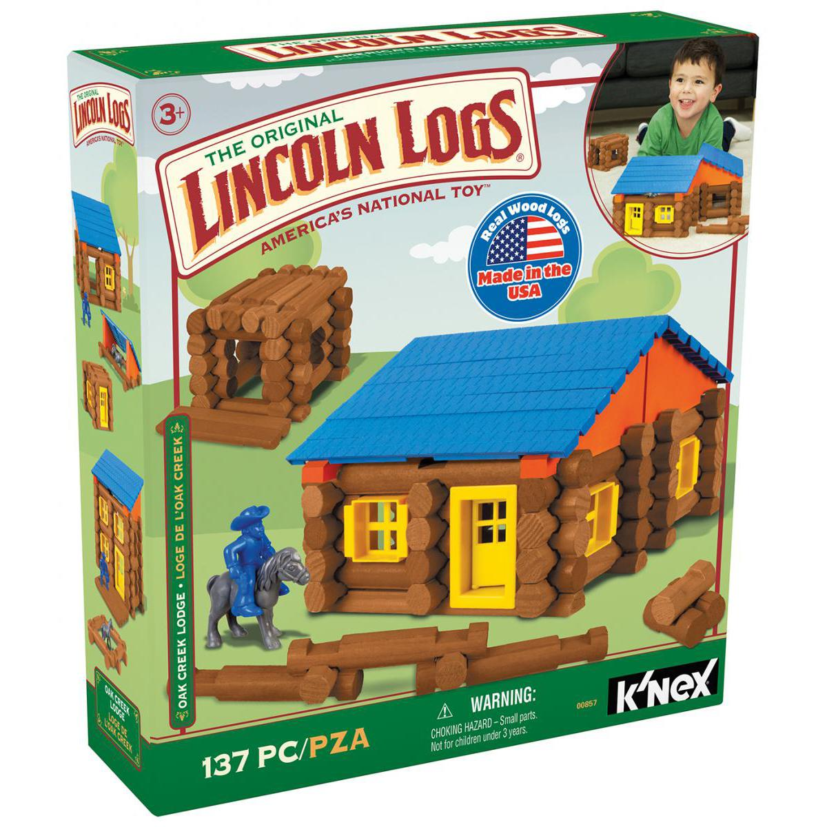 Lincoln Logs®  Oak Creek Lodge