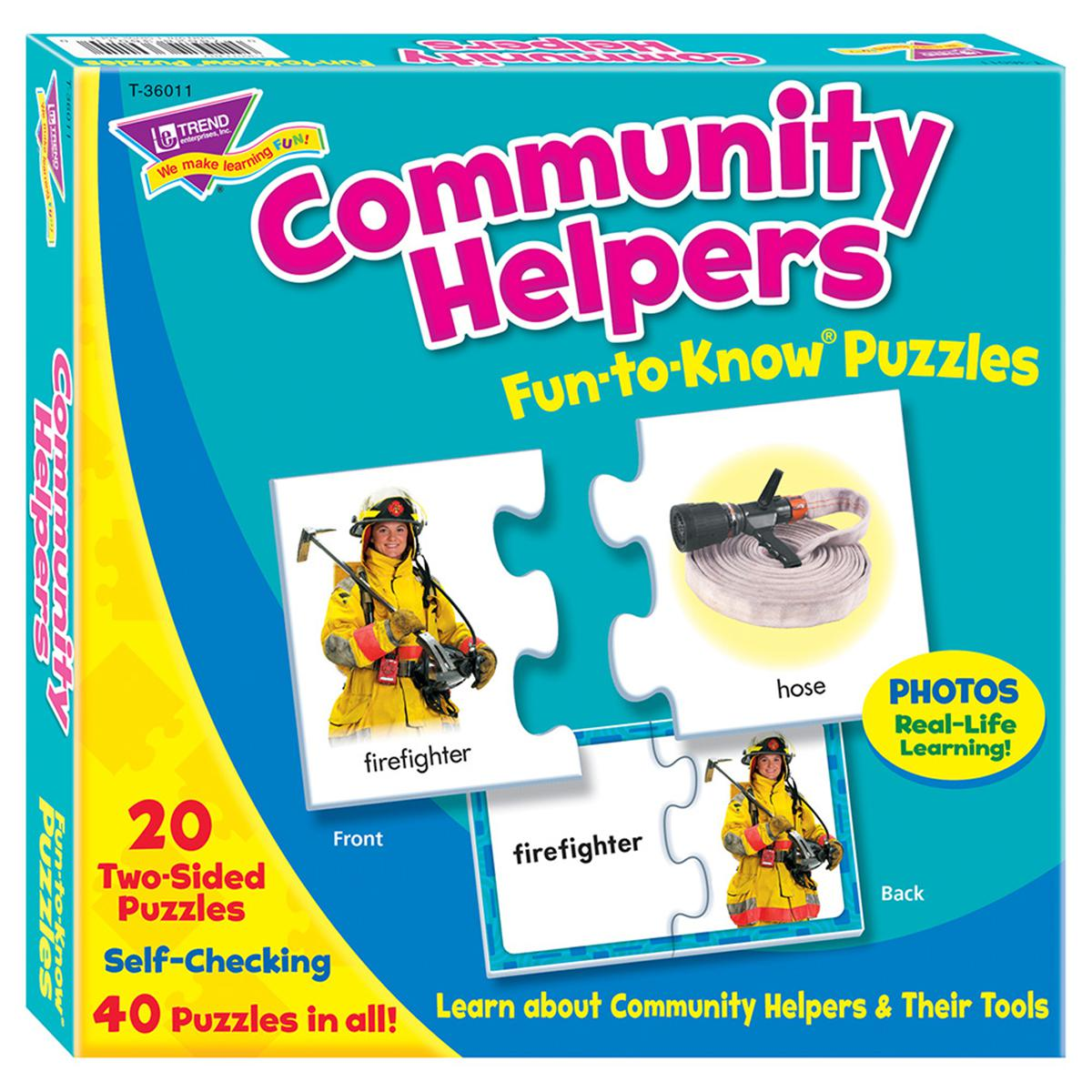 Fun to Know Puzzles: Community Helpers