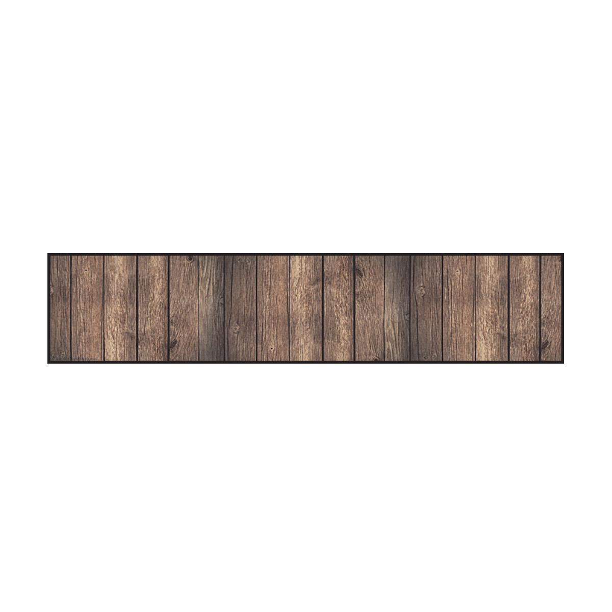 Dark Wood Straight Border Trimmer