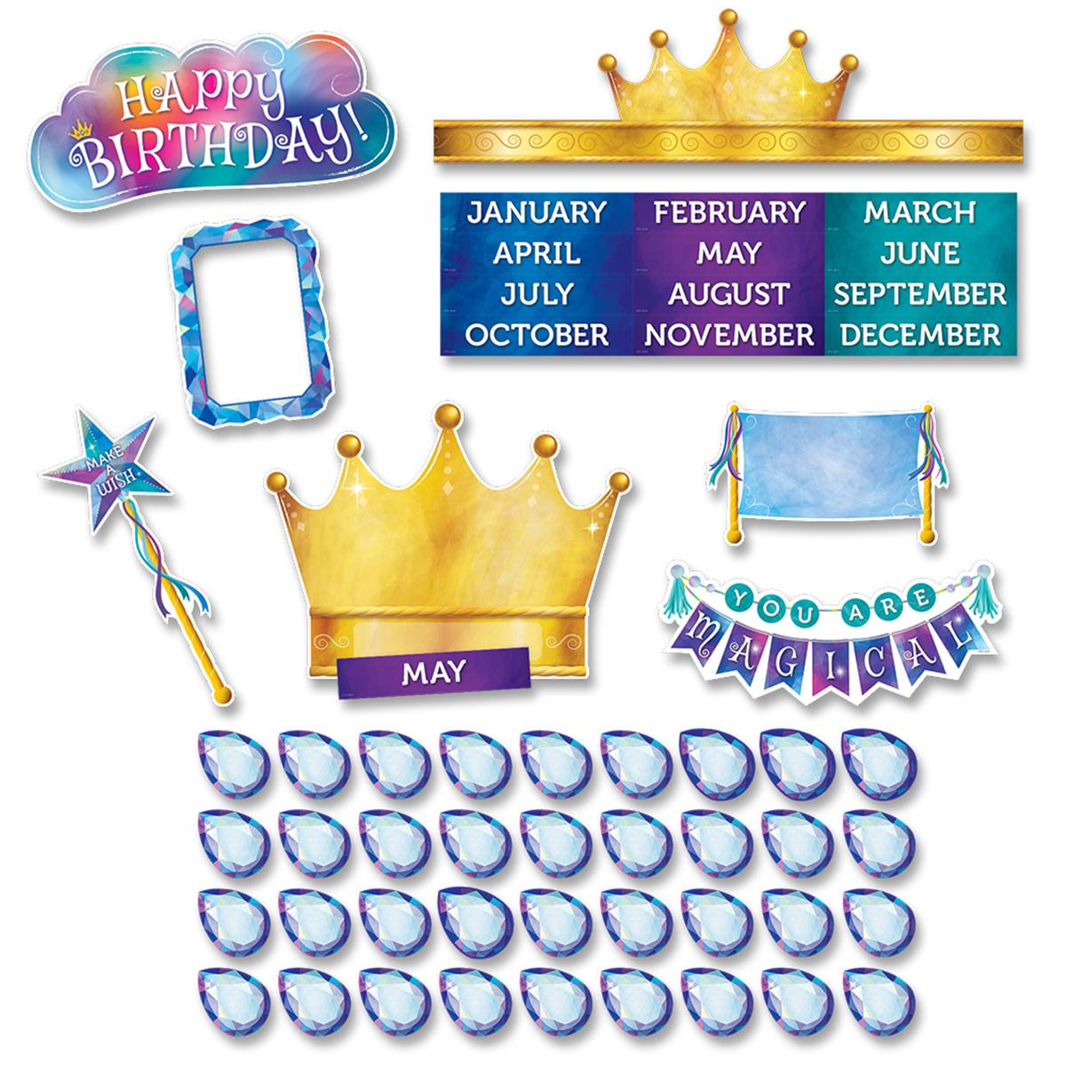 Mystical Magical Happy Birthday Mini Bulletin Board