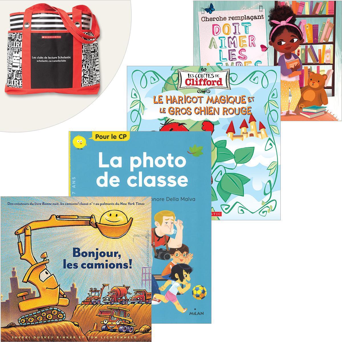 Bibliothèque de classe Maternelle à 2e année