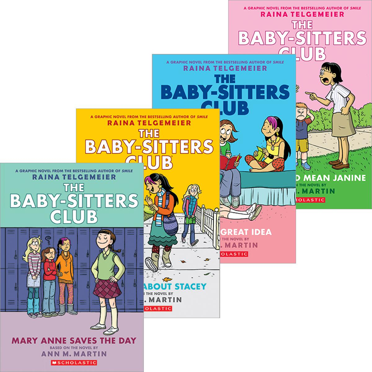 The Baby-Sitters Club® Graphix #1-#9 Pack