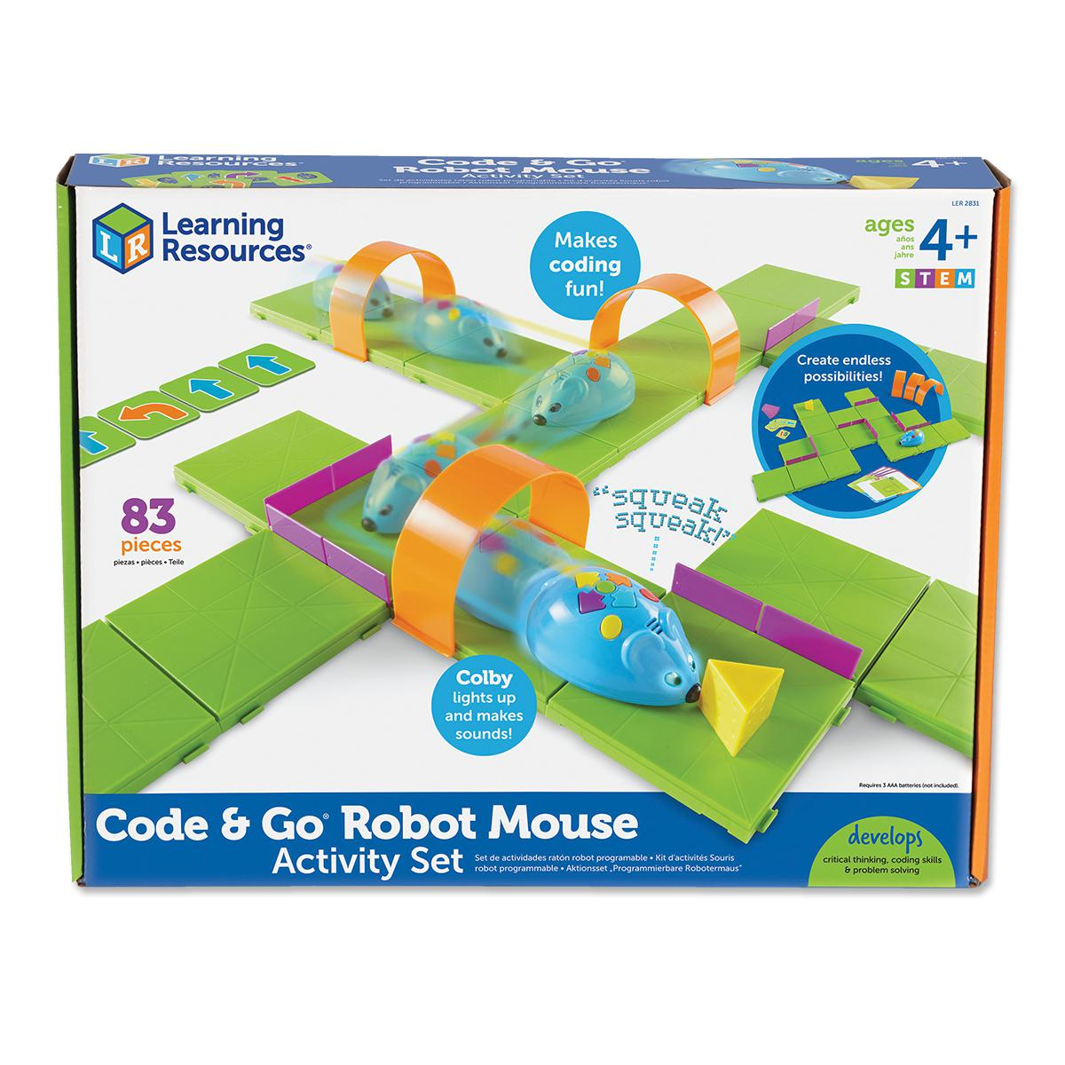 Code & Go: Robot Mouse Coding Activity Set