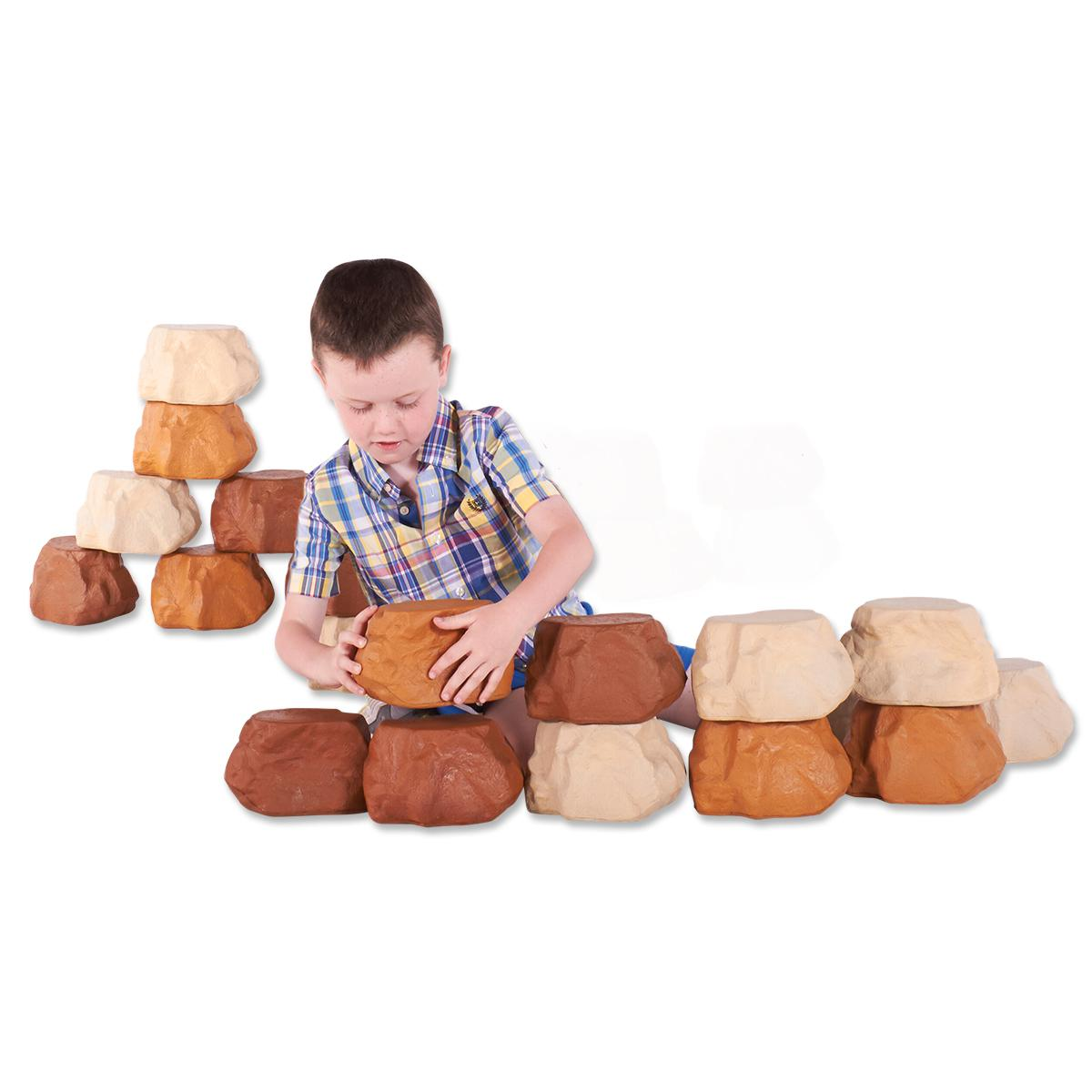 Rock Wall Builders 25-Piece Set