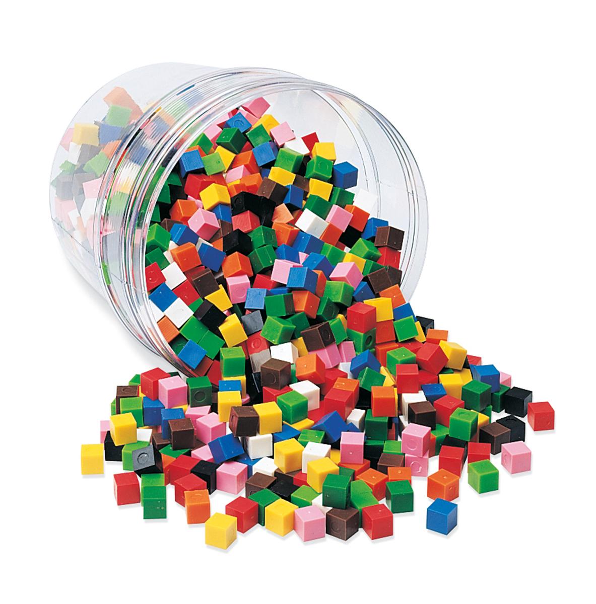 Cubes de 1 centimètre