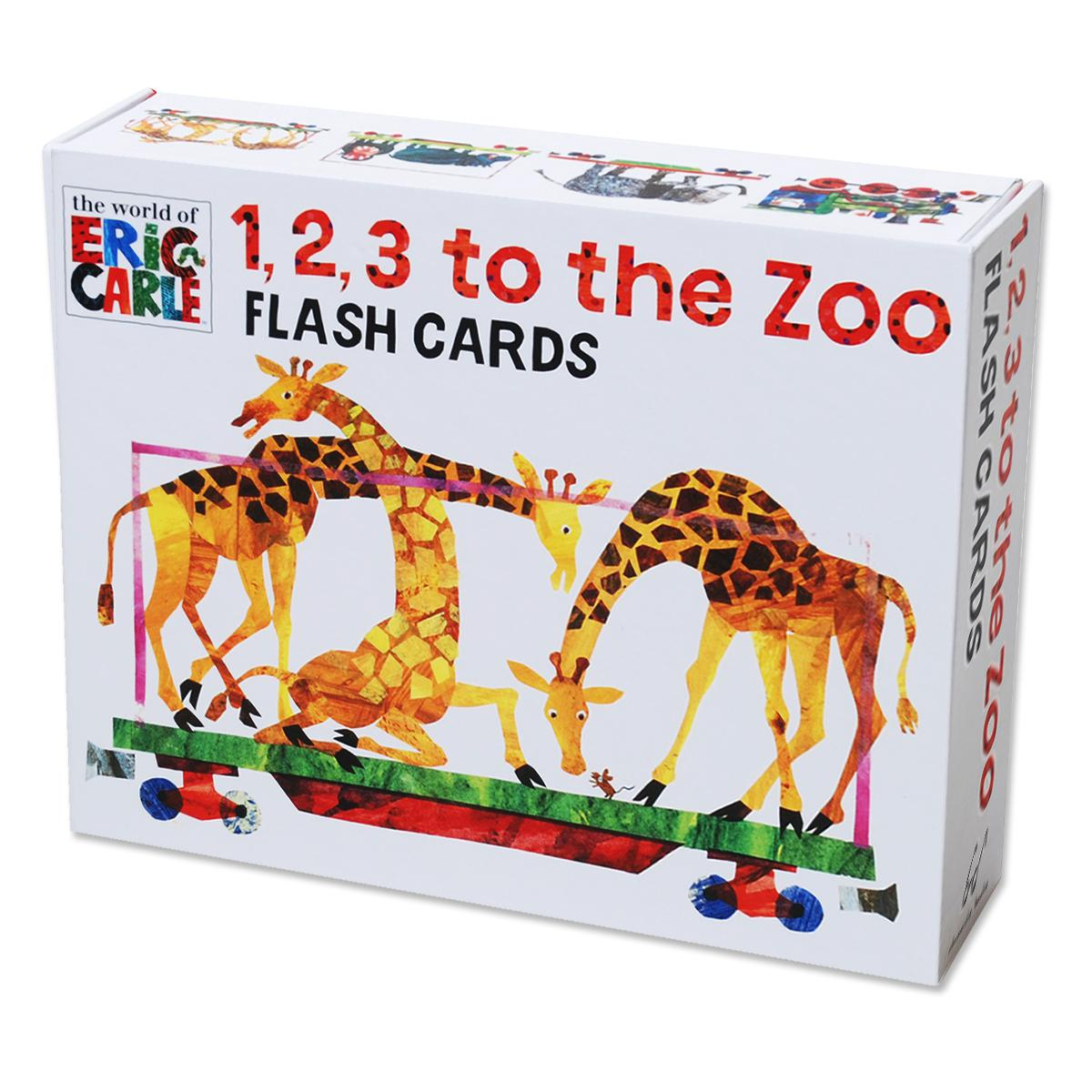 Eric Carle 123 to the Zoo Flash Cards