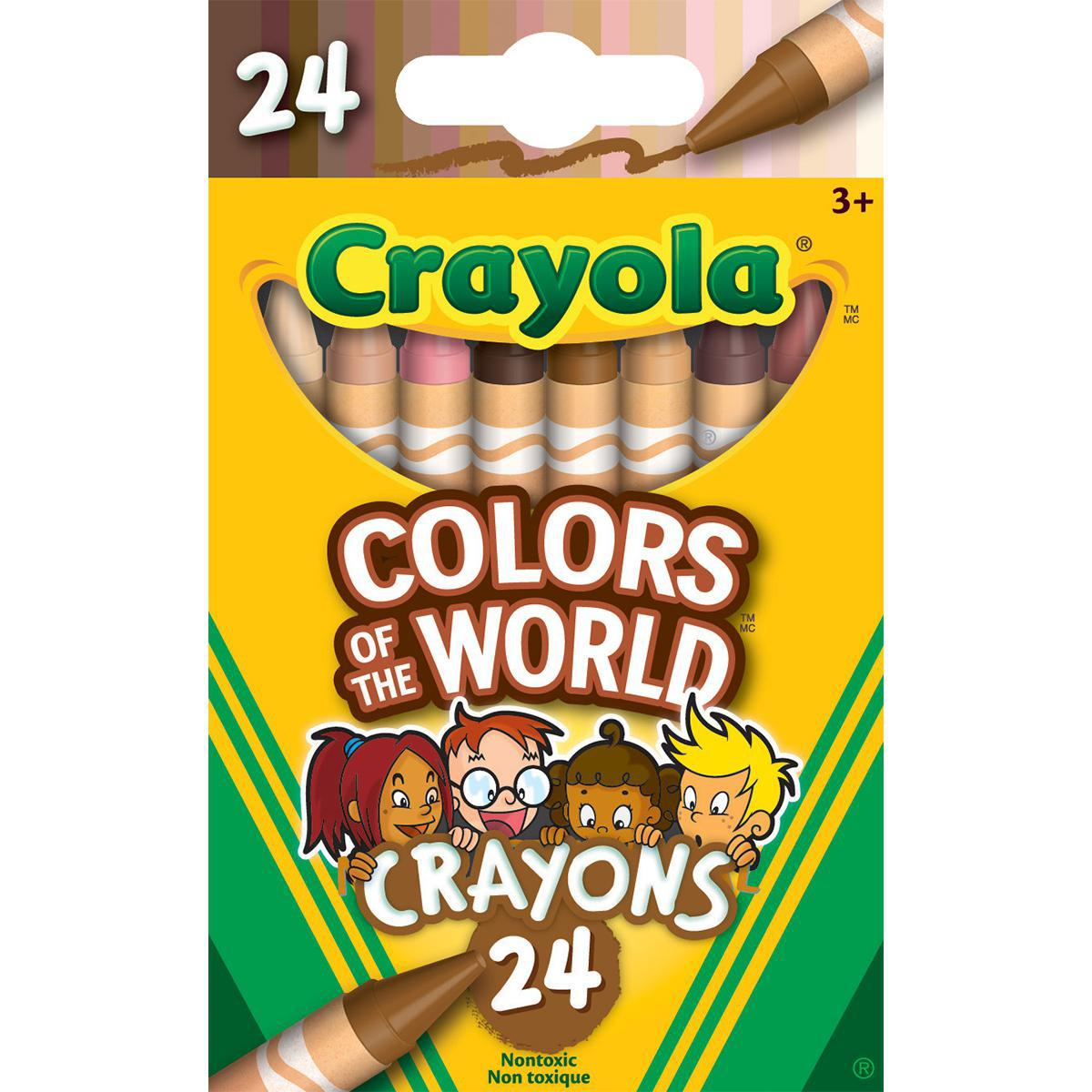 Crayola Colors of the World Crayons 24-pack