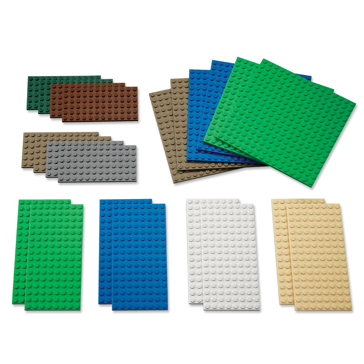 LEGO Small Building Plates 22-Pack