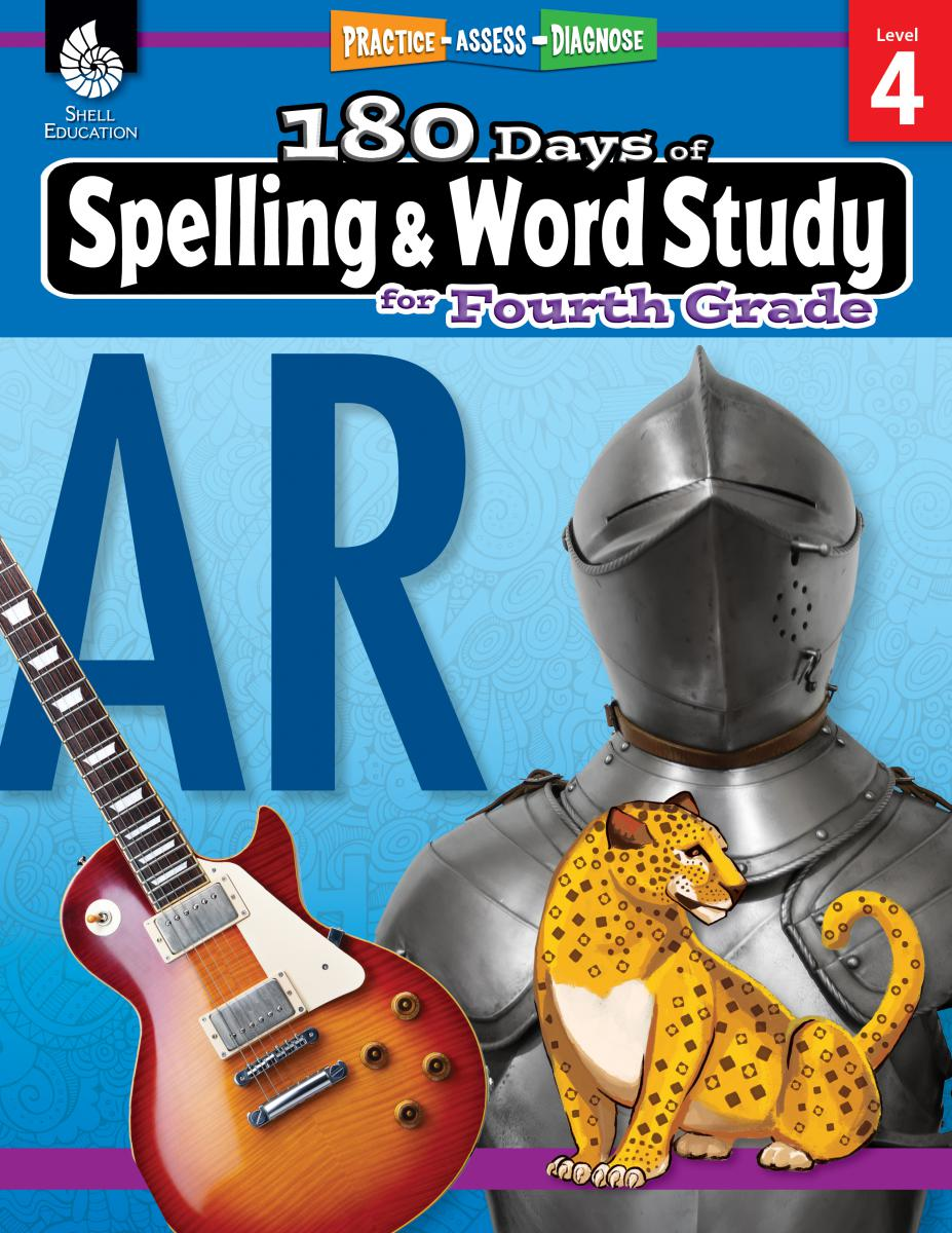 Practice, Assess, Diagnose: 180 Days of Spelling and Word Study for Fourth Grade