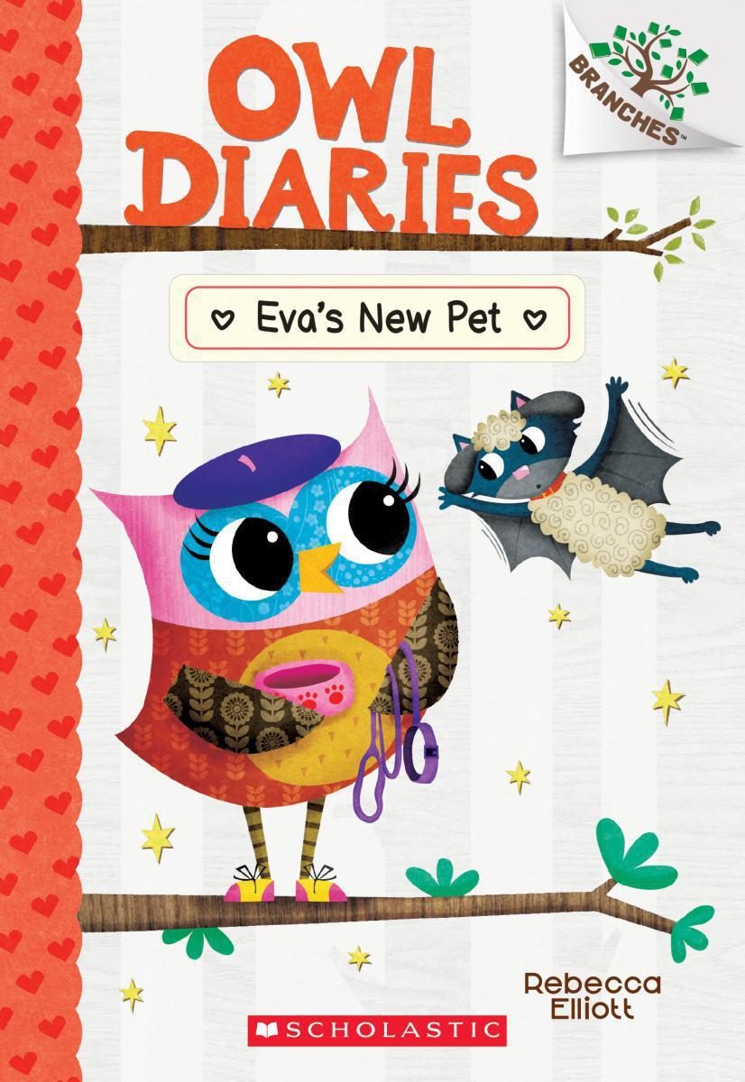 Owl Diaries #15: Eva's New Pet
