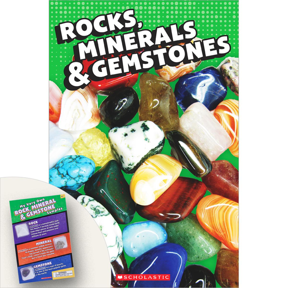 Rocks, Minerals & Gemstones Pack