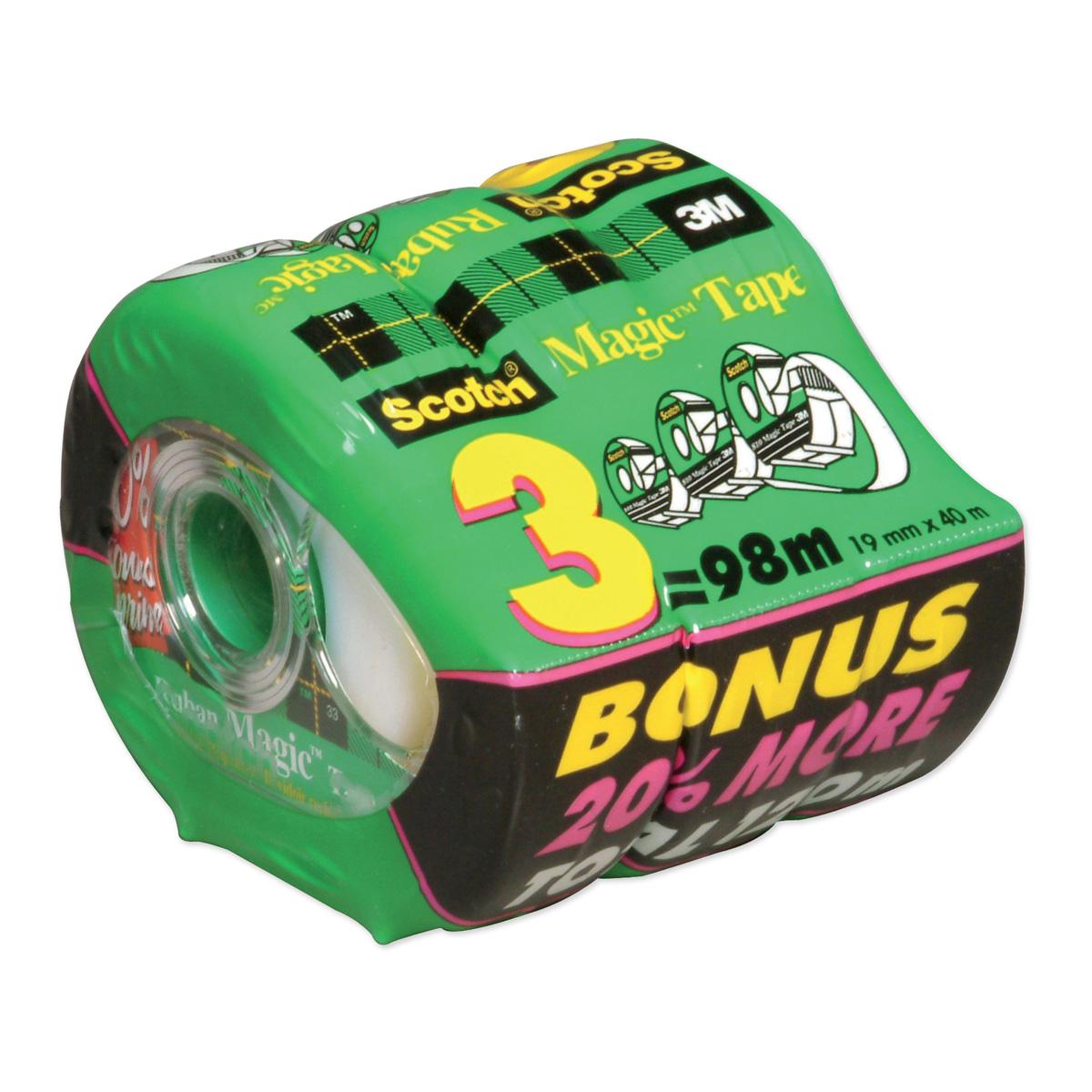 Scotch® Magic™ Tape Dispenser 3-Pack