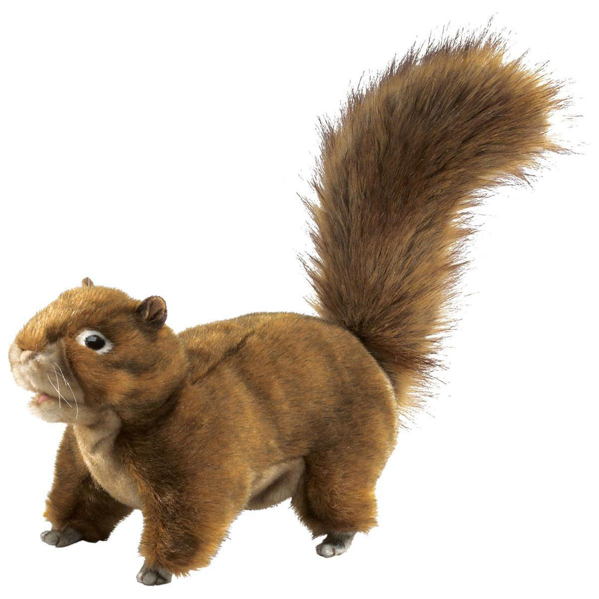 Red Squirrel Puppet 45cm