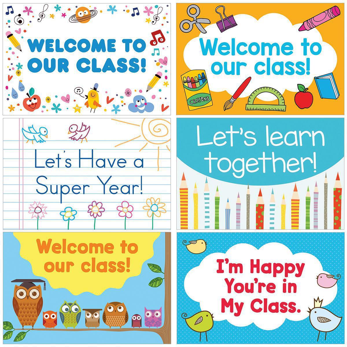 Back-to-School Postcards