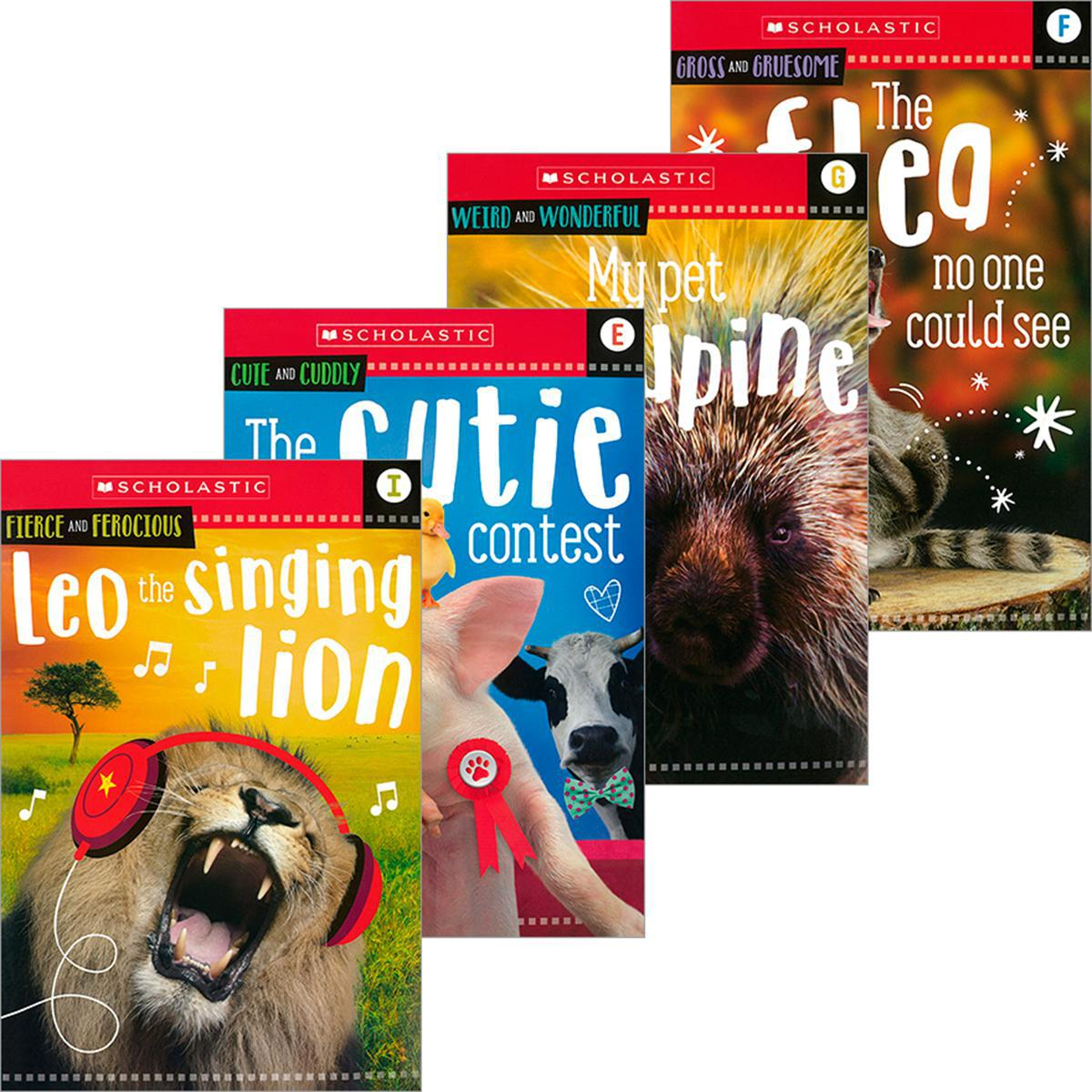 Scholastic Early Learning: Animal Antics E-J Reader Pack