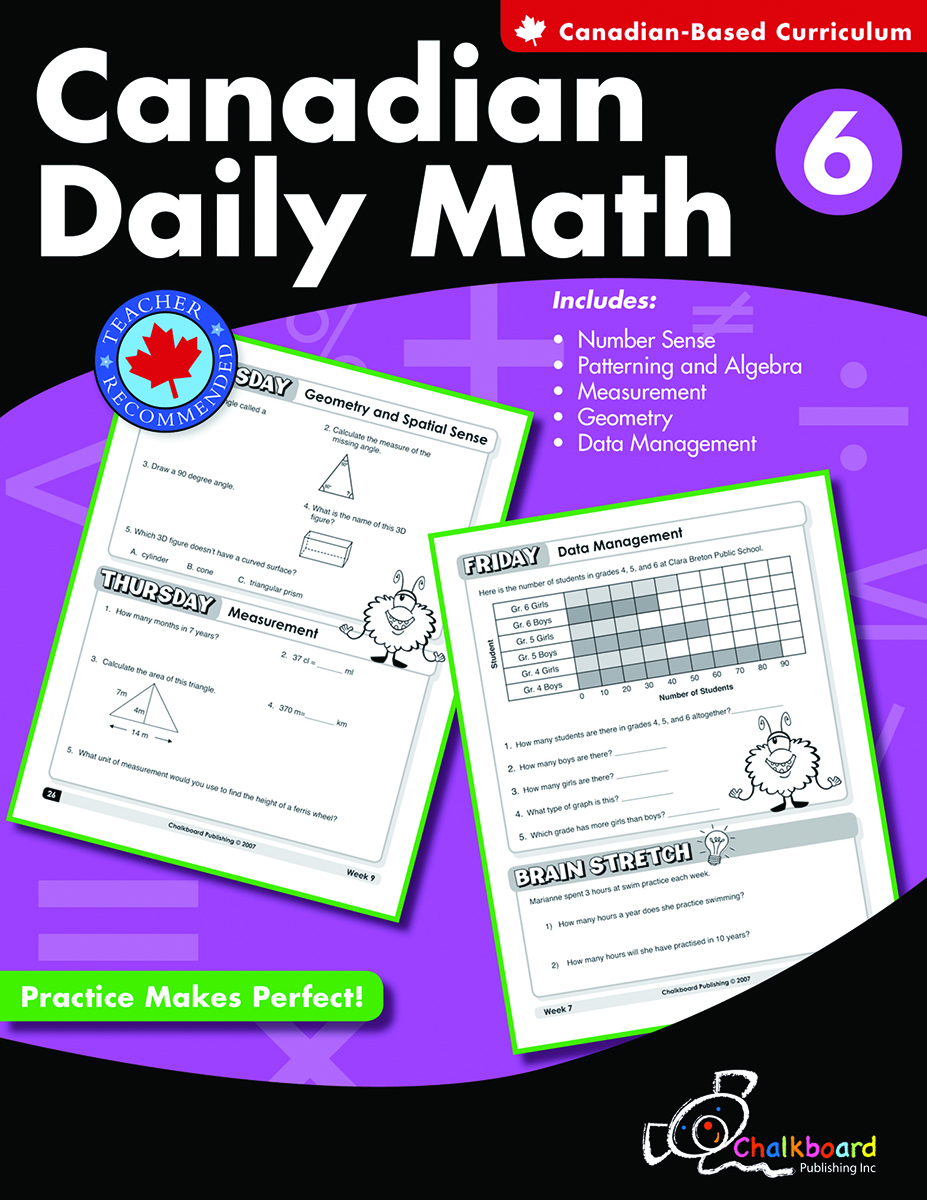Canadian Daily Math Gr. 6